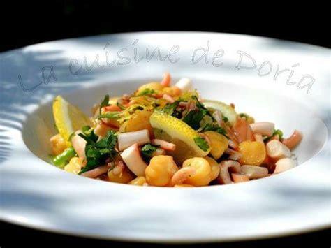 cuisine poulpe recettes de salade de poulpe de la cuisine de doria