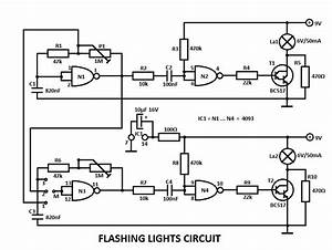 Flashing Lights Circuit