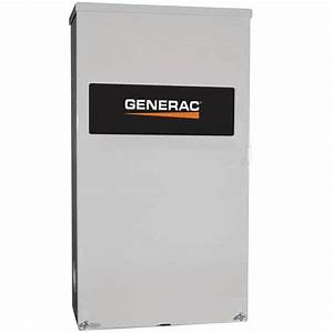 Generac 200 Amp Service Rated Automatic Transfer Switch