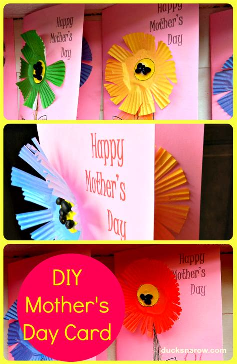cute  easy mothers day card  kids