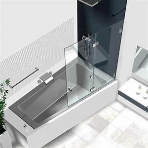 Duschwände Für Badewanne : duschwand badewanne badewannenaufs tze aus glas glasduschen ~ Buech-reservation.com Haus und Dekorationen