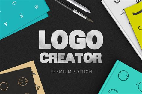 extensive logo creator logo templates creative market