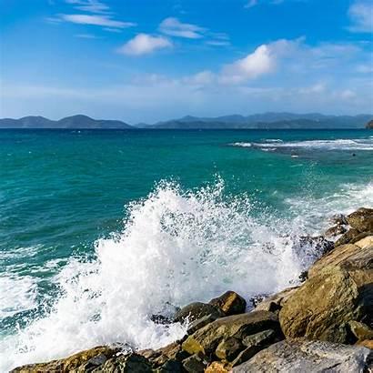 Wave Surf Spray Splash Ipad Stones Air