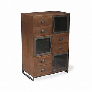 meuble rangement tiroirs obasinccom With meuble 9 tiroirs