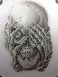 Skulls and Paper on Pinterest