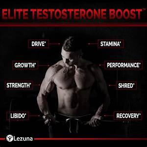 Testosterone Booster Premium Test Boost Supplement - 60 Capsules