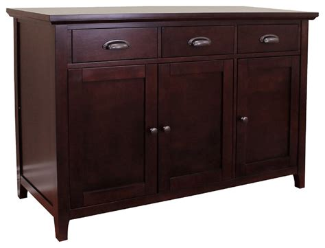 Sideboard Restaurant by Lindendale 47 Quot Sideboard Buffet Table Espresso