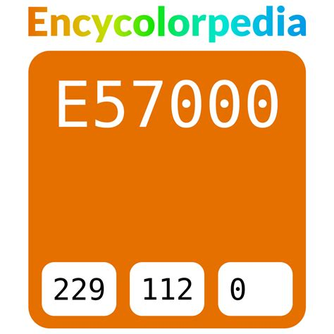 This color could be named as ferrari red. Ferrari Avorio Giallo / 20Y490 / #e57000 Hex Color Code ...