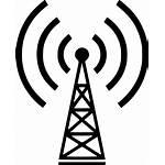 Antenna Radio Icon Signal Wireless Svg Tower