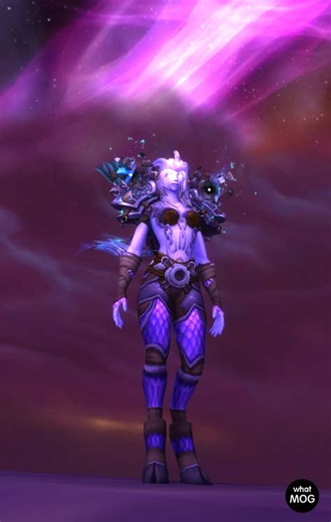 transmog armor hunter warcraft nether demon plate 5e hunters worldofwarcraft uploaded user raid