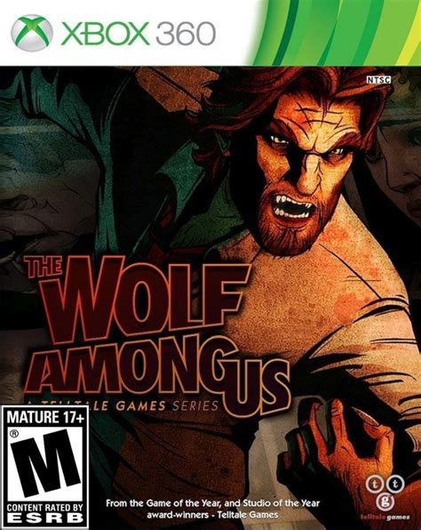 The Wolf Among Us Xbox 360 Game Cool Tienda De