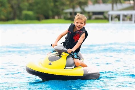 Inflatable Electric Water Scooter by Sea Doo Inflatable Water Scooter