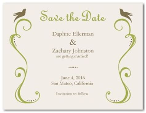 free save the date templates for word printable vintage save the date template