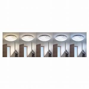 Led Deckenleuchte Bauhaus : led deckenleuchte 22 w teilopal durchmesser 40 cm warmwei bauhaus ~ Buech-reservation.com Haus und Dekorationen