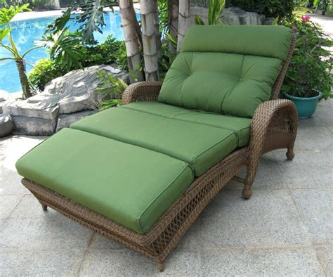 rattan chaise lounge outdoor wicker chaise lounge outdoor furniture peenmedia com