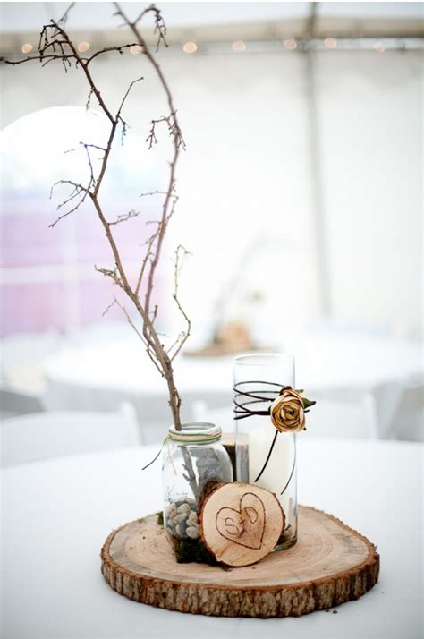 winter wedding decorations from the forest wedding