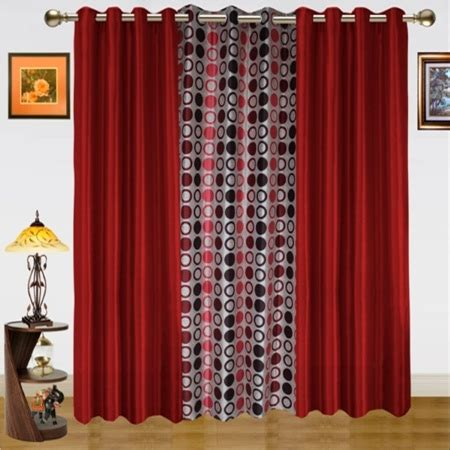 dekor world curtains dekor world dwct 509 7 solid curtains price specification