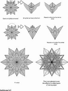 Easy Kirigami Snowflake Tutorial  6 Pointed