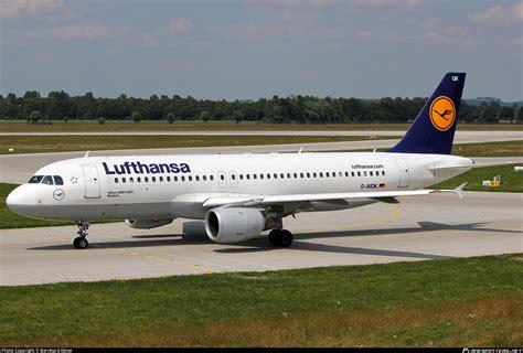 Daiqk Lufthansa Airbus A320211 Photo By Bernhard Ebner