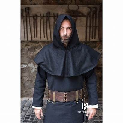 Hood Cucullus Ages Middle Medieval Sca Larp