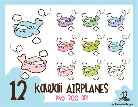 35 airplane clip kawaii airplane clip