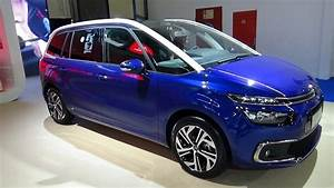 Citroën C4 Picasso Feel Versions : 2018 citroen grand c4 picasso feel bluehdi 120 exterior and interior zagreb auto show 2018 ~ Medecine-chirurgie-esthetiques.com Avis de Voitures