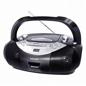 Radio Cd Kassette : portable radio cassette player cd mp3 sd usb spt 250 ~ Jslefanu.com Haus und Dekorationen