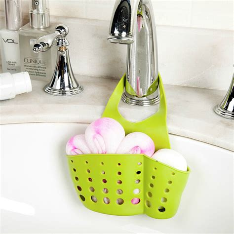 sponge holder for kitchen sink creative kitchen sink bathroom hanging strainer 8192