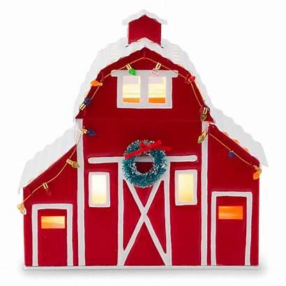 Christmas Country Scentsy Warmer Barn November Glow