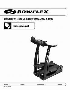 Bowflex Treadclimber 1000 Service Manual