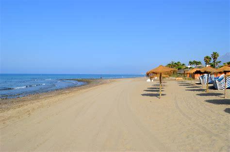 le si鑒e de le migliori dieci spiagge di marbella
