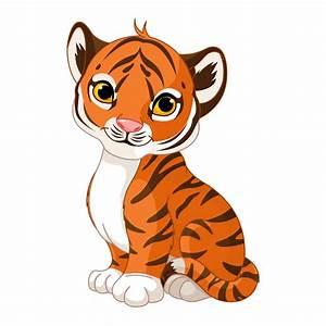 Stickers Bébé Tigre Sticker Tigre Enfant Autocollant