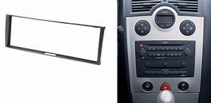 One Din Car Audio Fascia For Renault Clio Modus Megane