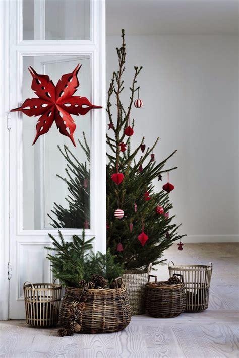 scandinavian christmas trees   holiday