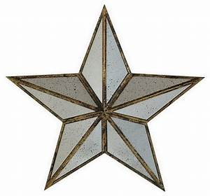 Houzz large silver metal mirror star wall art home