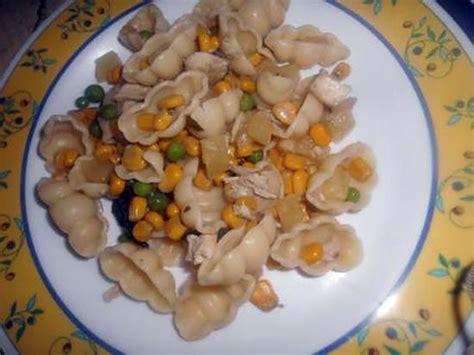 recette de pates froide au poulet ananas et c est petit legume