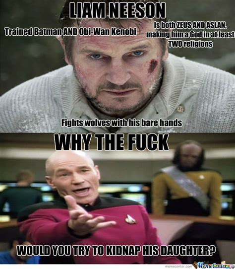 Liam Neeson Memes - watch liam neeson crash a porsche into an airplane in the
