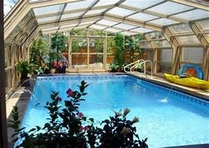 17 best images about backyard on pinterest pools for Indoor pool with retractable roof