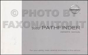 2002 Nissan Pathfinder Cd