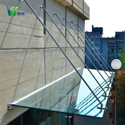china home  double retractable glass canopy  frontback door glass china canopy glass