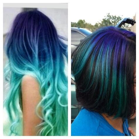 Different Colors Hair by How To Dye Hair Two Different Colors Everlasting