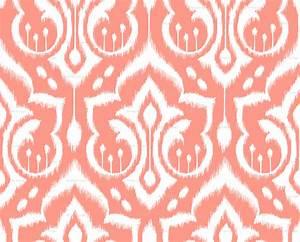 Coral Chevron Wallpaper - WallpaperSafari