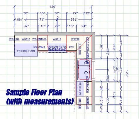 Kitchen Cabinet Floor Plans by Kitchen Floor Plans Cabinet Floor Plans On