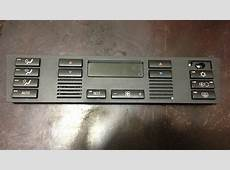 AC Heater Climate Control Buttons Removal 19972000 BMW