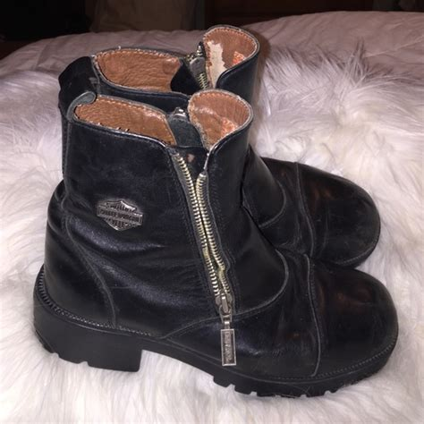 zipper motorcycle boots 92 off harley davidson boots harley davidson motorcycle