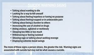 Helpline  U00bb Do You Know The Warning Signs Of Suicide