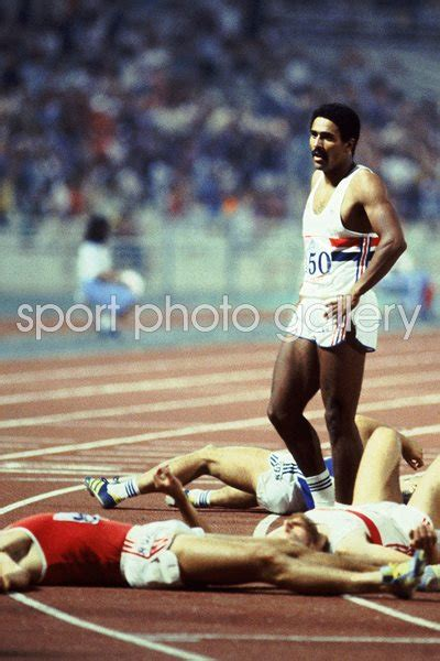 daley thompson  man standing athens  images