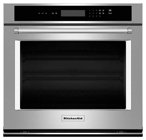 frigidaire gas range kitchenaid 27 quot built in single electric wall oven silver