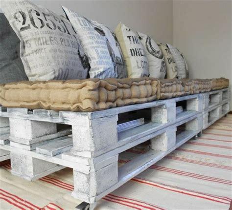 canape palette recup comment fabriquer un canapé en palette tuto et 60