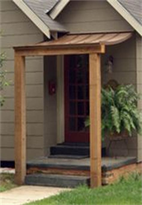 build awning  door   awning plans plans